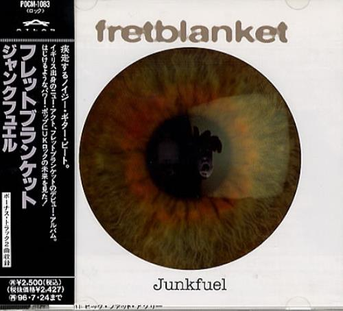 Click to view product details and reviews for Fretblanket Junkfuel 1994 Japanese Cd Album Pocm 1083.