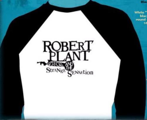 CHEAP Robert Plant Mighty Rearranger Baseball Shirt [Small] UK t-shirt SMALL 25209782551 – General Clothing