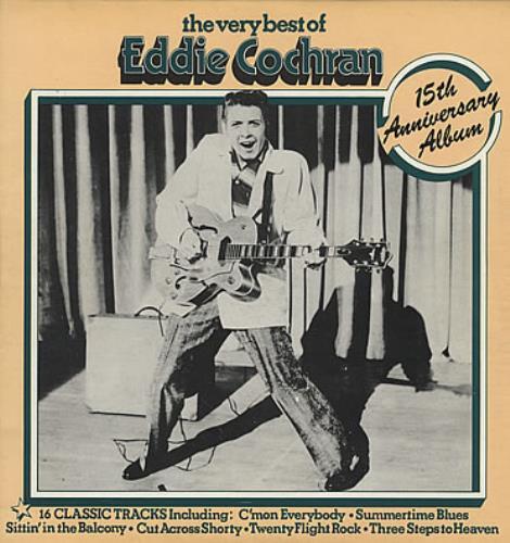 Eddie Cochran The Very Best Of Eddie Cochran Records Lps