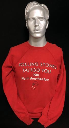 CHEAP Rolling Stones Tattoo You – 1981 US Tour Sweatshirt 1981 USA clothing SWEATSHIRT 25934486407 – General Clothing