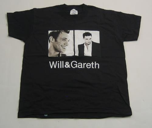 CHEAP Will Young Will & Gareth 2004 UK t-shirt TOUR T-SHIRT 25209795375 – General Clothing