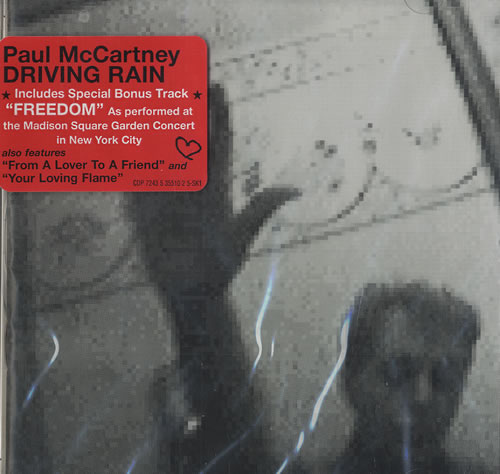 Paul Mccartney Driving Rain Records Lps Vinyl And Cds
