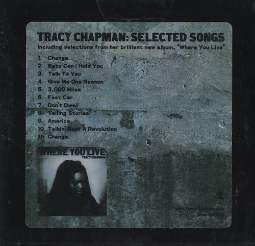 Chapman Tracy Records Lps Vinyl And Cds Musicstack