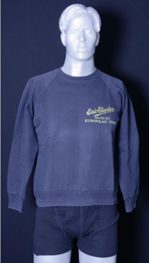 CHEAP Eric Clapton Backless European Tour 1978 UK clothing SWEATSHIRT 25209842811 – General Clothing