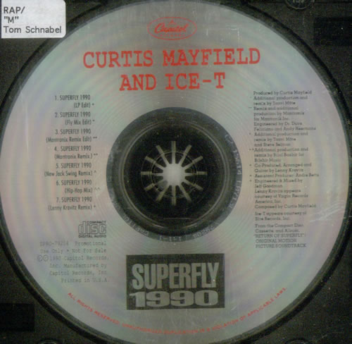 Click to view product details and reviews for Curtis Mayfield Superfly 1990 1990 Usa Cd Single Dpro 792040.