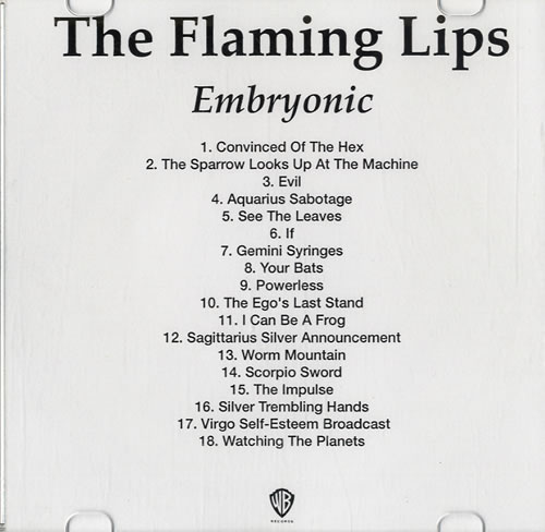 Click to view product details and reviews for The Flaming Lips Embryonic Ep 2009 Usa Cd R Acetate Two Cd R Acetate Set.