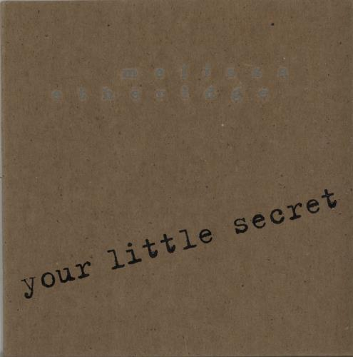 Click to view product details and reviews for Melissa Etheridge Your Little Secret 1995 Usa Cd Single Prcd7054.
