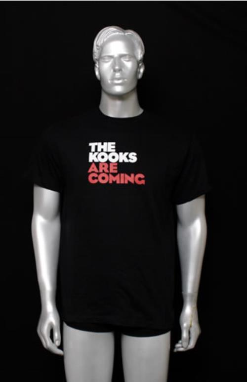 CHEAP The Kooks The Kooks Are Coming – Medium 2006 USA t-shirt T-SHIRT 25209847663 – General Clothing