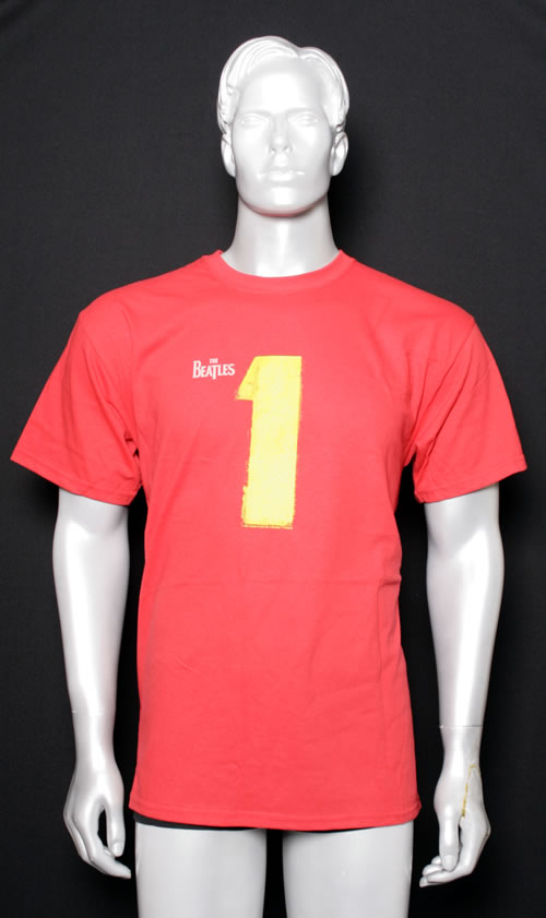CHEAP The Beatles 1 – Red T-shirt – large 2011 USA t-shirt T-SHIRT 25209847977 – General Clothing