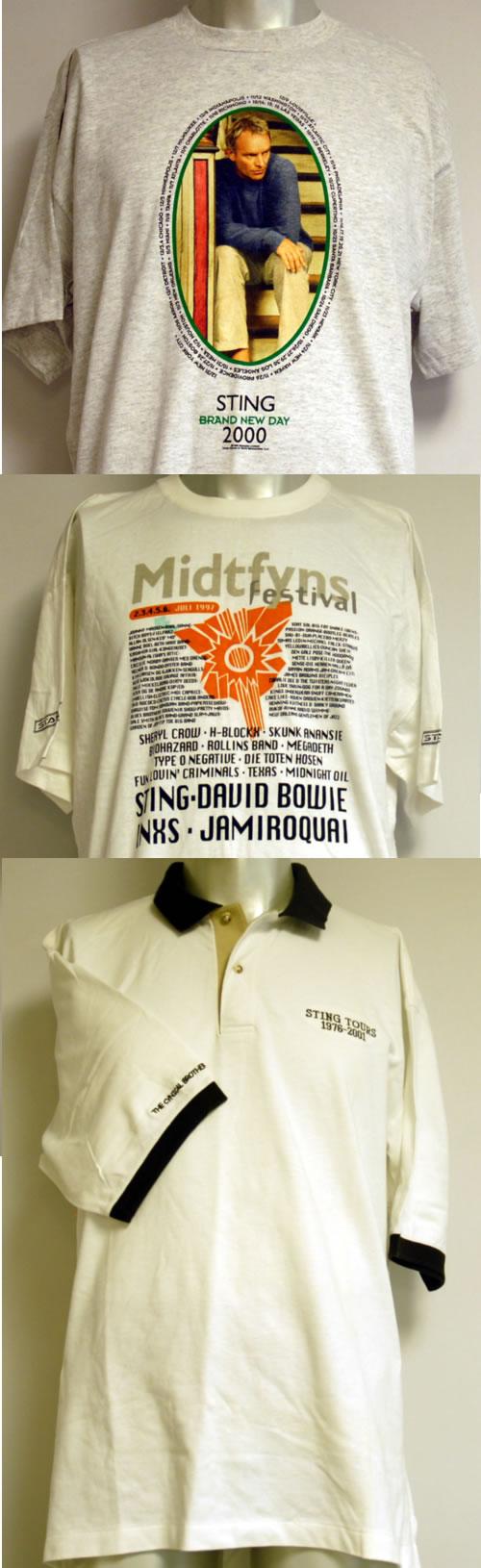 CHEAP Sting Crew & Tour T-Shirts UK t-shirt 10STINGCREWSHIRTS 25209850551 – General Clothing