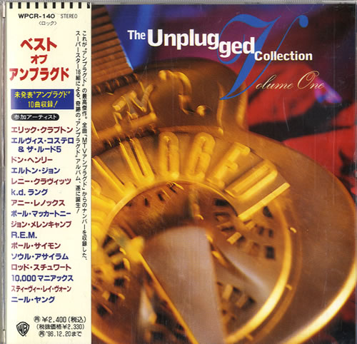 Click to view product details and reviews for Various Pop The Unplugged Collection 1996 Japanese Cd Album Wpcr 140.