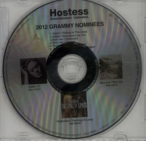 Click to view product details and reviews for Various Artists 2012 Grammy Nominees 2012 Japanese Cd Album Gram001.
