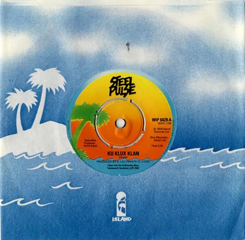 Steel Pulse Ku Klux Klan Records Lps Vinyl And Cds