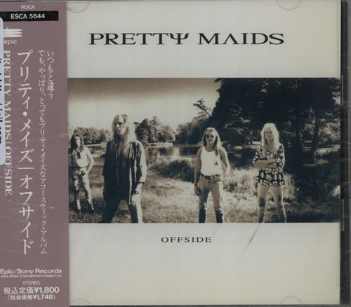 Click to view product details and reviews for Pretty Maids Offside 1992 Japanese Cd Single Esca 5644.