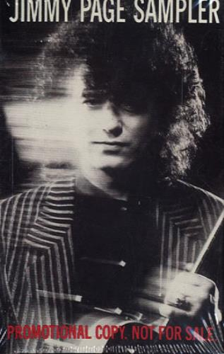 Click to view product details and reviews for Jimmy Page Jimmy Page Sampler 1988 Usa Cassette Single Pro C 3269.