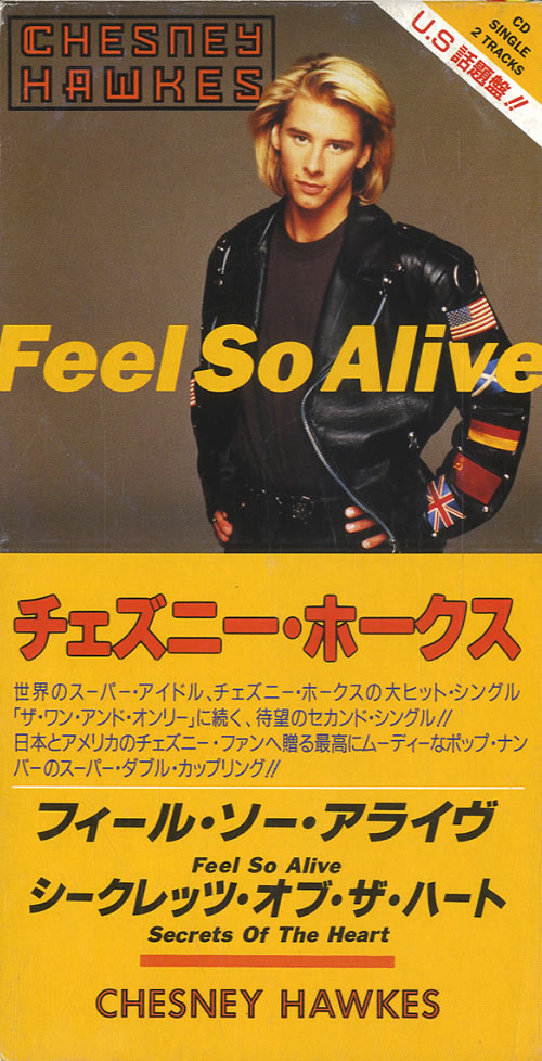 Click to view product details and reviews for Chesney Hawkes Feel Alive 1992 Japanese 3 Cd Single Todp 2349.