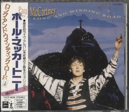 Click to view product details and reviews for Paul Mccartney And Wings The Long And Winding Road Obi Sealed 1991 Japanese Cd Single Tocp 6638.