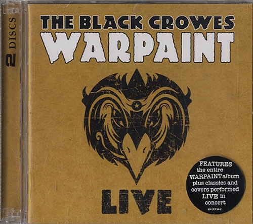 Click to view product details and reviews for The Black Crowes Warpaint Live Sealed 2009 Usa 2 Cd Album Set Er20154 2.