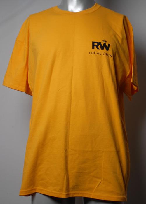 CHEAP Robbie Williams Take The Crown Tour – XL Yellow 2013 UK t-shirt T-SHIRT 25209867079 – General Clothing