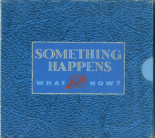Click to view product details and reviews for Something Happens What Now 1990 Uk Cd Single Vscdx1269.