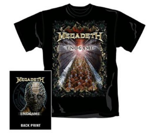 CHEAP Megadeth End Game T-Shirt – Black [S] 2009 UK t-shirt T-SHIRT 25209867679 – General Clothing