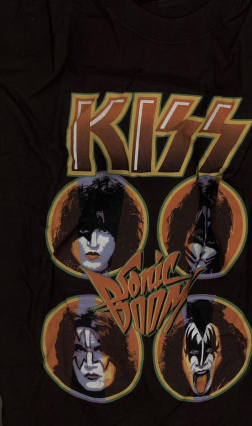CHEAP Kiss Sonic Boom T-Shirt – Black [M] 2009 UK t-shirt T-SHIRT 25209867683 – General Clothing