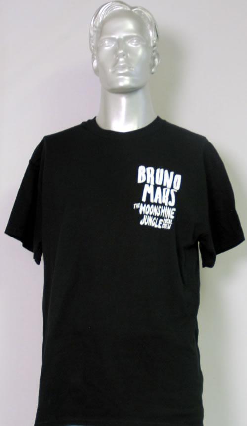 CHEAP Bruno Mars The Moonshine Jungle Tour – T-Shirt 2014 UK t-shirt T-SHIRT 25209877621 – General Clothing