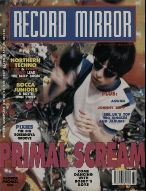 Click to view product details and reviews for Primal Scream Record Mirror 1990 Uk Magazine August 1990.