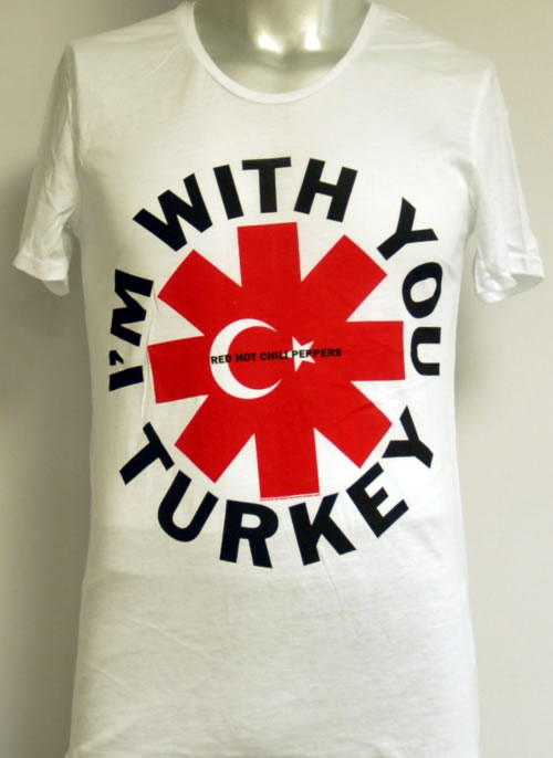 CHEAP Red Hot Chili Peppers I'm With You Turkey – Medium 2012 Turkish t-shirt T-SHIRT 25209880191 – General Clothing