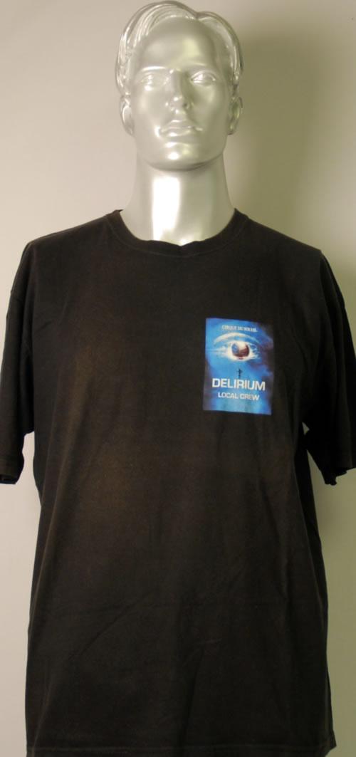 CHEAP Cirque Du Soleil Delirium 2007 UK t-shirt CREW T-SHIRT 25209880473 – General Clothing