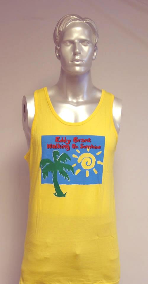 CHEAP Eddy Grant Walking On Sunshine 1989 UK t-shirt VEST TOP 25209896565 – General Clothing