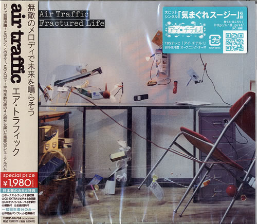 Click to view product details and reviews for Air Traffic Fractured Life Sealed 2007 Japanese Cd Album Tocp 66704.