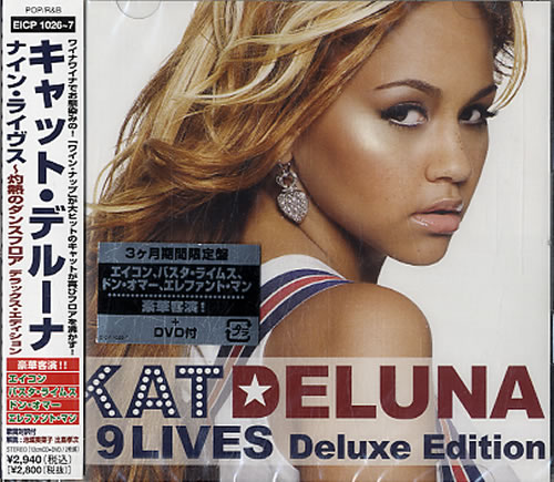 Click to view product details and reviews for Kat Deluna 9 Lives Sealed 2008 Japanese Cd Album Eicp10267.