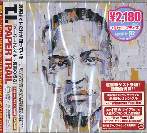 Click to view product details and reviews for Ti Paper Trail Sealed 2008 Japanese Cd Album Wpcr 13100.