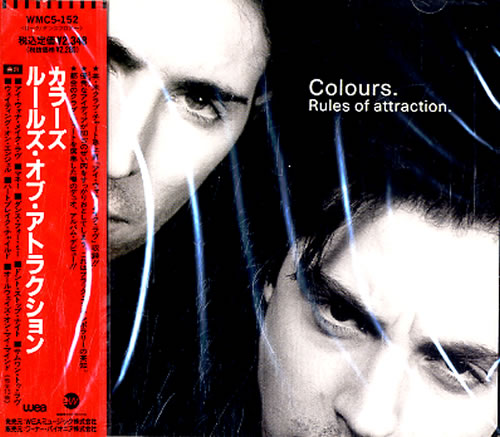 Click to view product details and reviews for Colours 90s Rules Of Attraction Sealed 1990 Japanese Cd Album Wmc5 152.