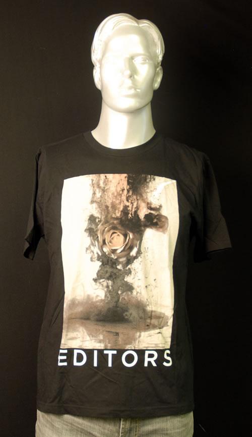 CHEAP Editors The Weight of Your Love T-Shirt – Medium 2013 UK t-shirt PROMO T-SHIRT 25209899947 – General Clothing
