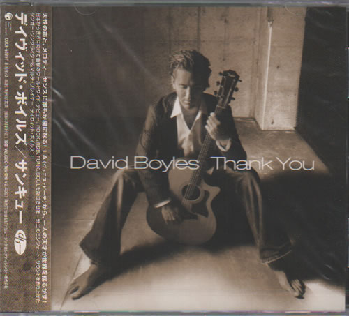 Click to view product details and reviews for David Boyles Thank You 2005 Japanese Cd Album Cocb 53397.