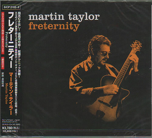 Click to view product details and reviews for Martin Taylor Freternity Sealed 2008 Japanese 2 Disc Cd Dvd Set Sicp21023.