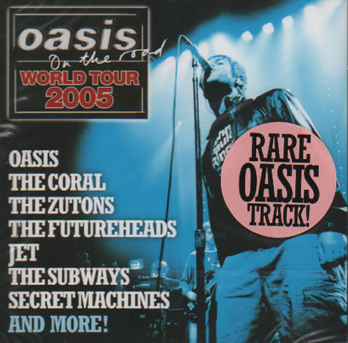 Click to view product details and reviews for Oasis Oasis On The Road World Tour 2005 2005 Uk Cd Album Nmecd05 4.