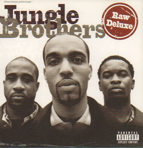 Jungle Brothers Raw Deluxe 1997 Uk Cd Album Gee1000282