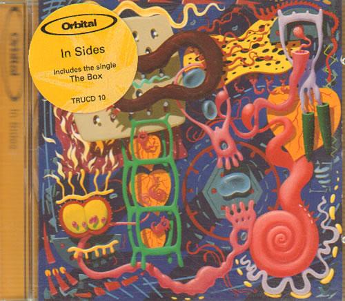 Orbital In Sides 1996 Uk Cd Album Trucd10