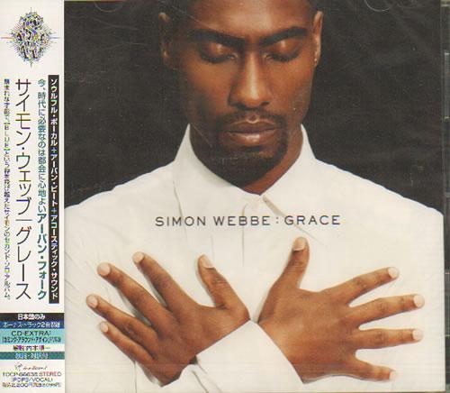 Simon Webbe Grace Sealed 2007 Japanese Cd Album Tocp 66635