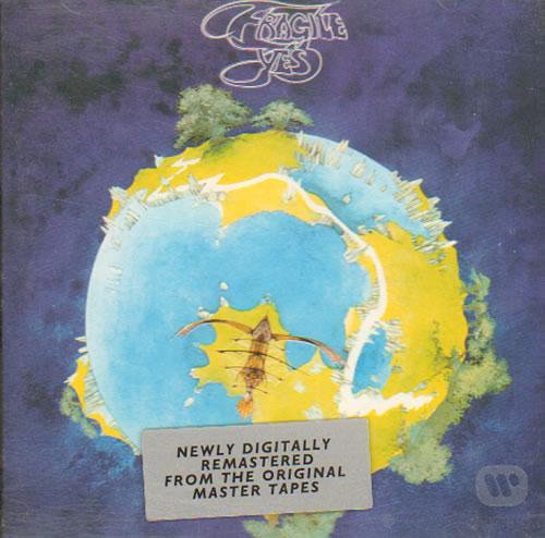 Yes Fragile 1994 German Cd Album 7567 82667 2