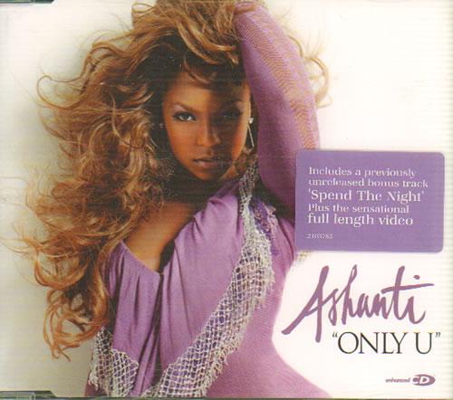 Ashanti Only U 2004 Uk Cd Single 2103785