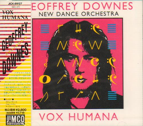 Geoffrey Downes Vox Humana Sealed 1992 Japanese Cd Album Jick 89127