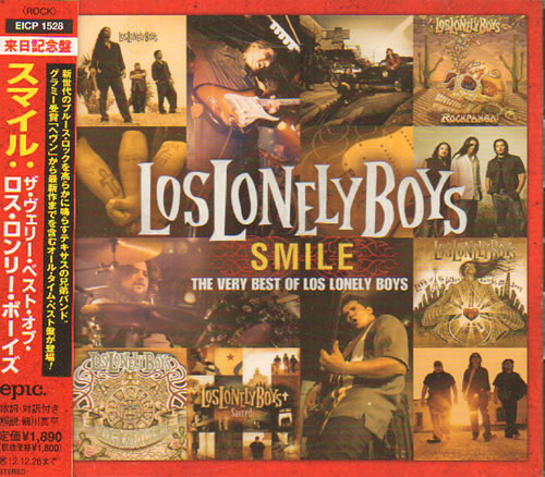 Los Lonely Boys Smile The Very Best Of Los Lonely Boys 2012 Japanese Cd Album Eicp1528