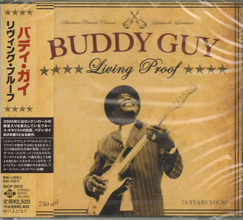 Buddy Guy Living Proof Sealed 2010 Japanese Cd Album Sicp2970