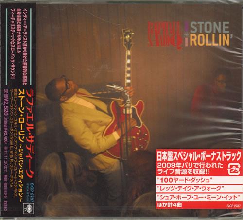 Raphael Saadiq Stone Rollin 2011 Japanese Cd Album Sicp2787