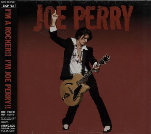 Joe Perry Joe Perry 2005 Japanese Cd Album Sicp 763