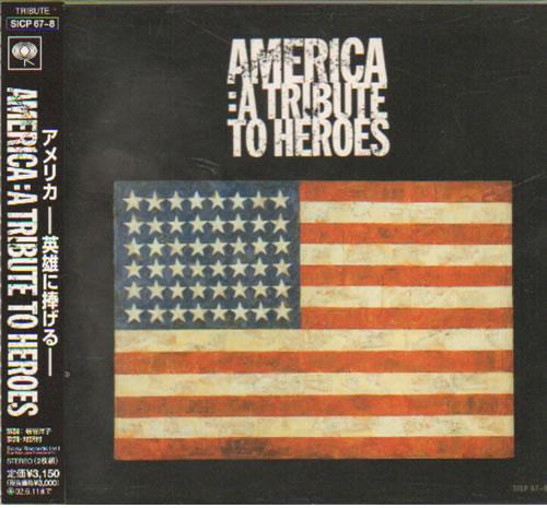 Various Pop America A Tribute To Heroes 2001 Japanese 2 Cd Album Set Sicp678